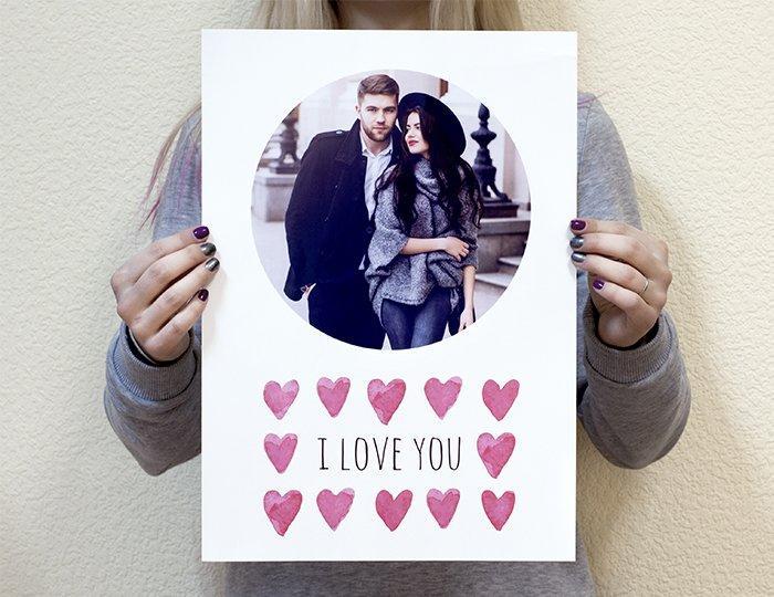 Постеры с фото